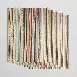 Record Collection Wrapping Paper