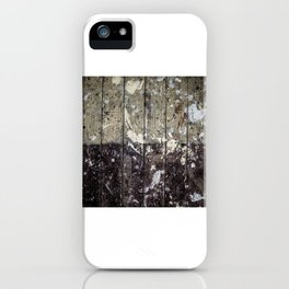 Paint Marked Floor iPhone Case