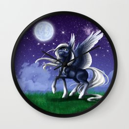 Star Lit Sky Wall Clock