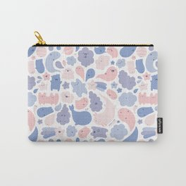 Colors Of The Year Doodle - Rose Quartz & Serenity - Pantone Carry-All Pouch