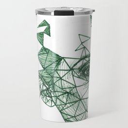 Claire Foy Fracture Drawing Travel Mug
