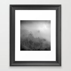 Flying with you... Framed Art Print
