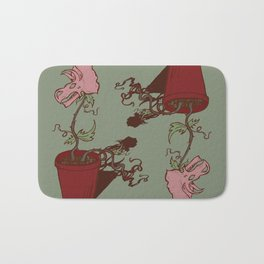 Nepenthes Ceratopsidae Bath Mat