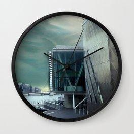 Interrupted Landscape Wall Clock