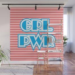 GRL PWR, Girl Power Wall Mural