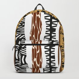 African Tribal Pattern No. 155 Backpack