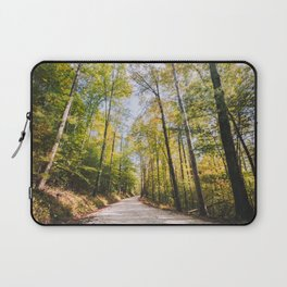 Forest Road - Muir Valley, Kentucky Laptop Sleeve