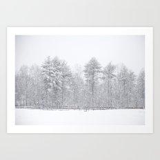One Snowy Day Art Print