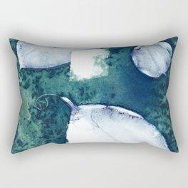 3 Leaves Rectangular Pillow
