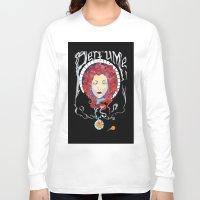 perfume Long Sleeve T-shirts featuring Perfume by Paul Bridgeman