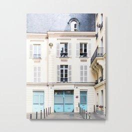 318. Parisian Street, Paris Metal Print