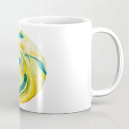 What The World Needs Now. Yellow Marble. Coffee Mug