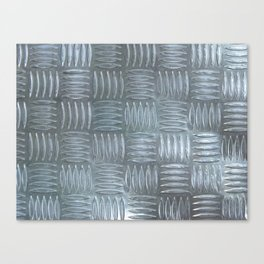 Aluminum Textured Canvas Print