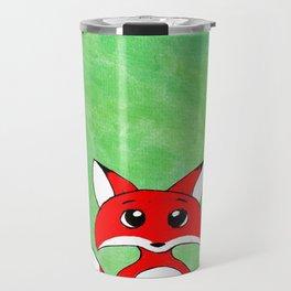 Foxy Green Travel Mug