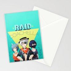 Raid Coachella Stationery Cards