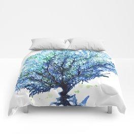 Fan Coral - Aqua Comforters