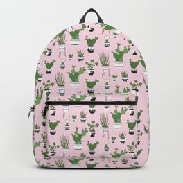 Cactus Love (in pink) Backpack