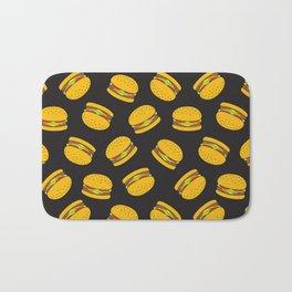 Burger Pattern  Everett co Bath Mat