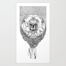 lady death Art Print