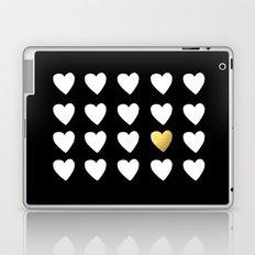 Golden Heart Laptop & iPad Skin