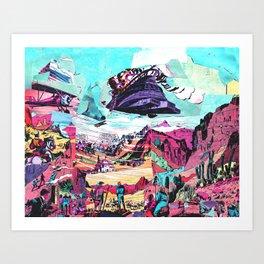Mountain Adventure Art Print