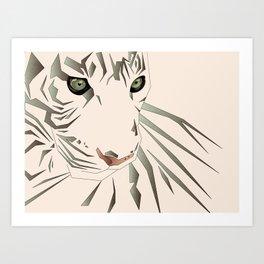 Tiger's Tranquility Art Print