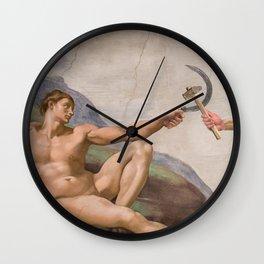 Creation of Communism Wall Clock