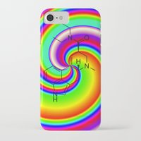 lsd iPhone & iPod Cases featuring LSD swirl by moleculestore