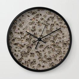 Duck Prints Wall Clock