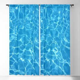 pool water Blackout Curtain