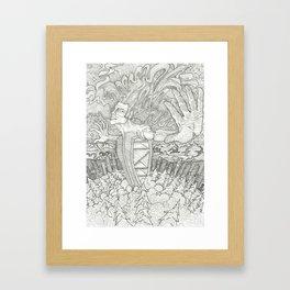 Cosmic Release Framed Art Print