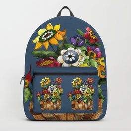 Happy Flowers Backpack