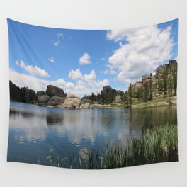 Sylvan Lake in the Black Hills Wall Tapestry