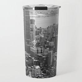 new york city ... manhattan view II Travel Mug