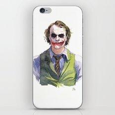Heath Ledger (The Joker) iPhone & iPod Skin