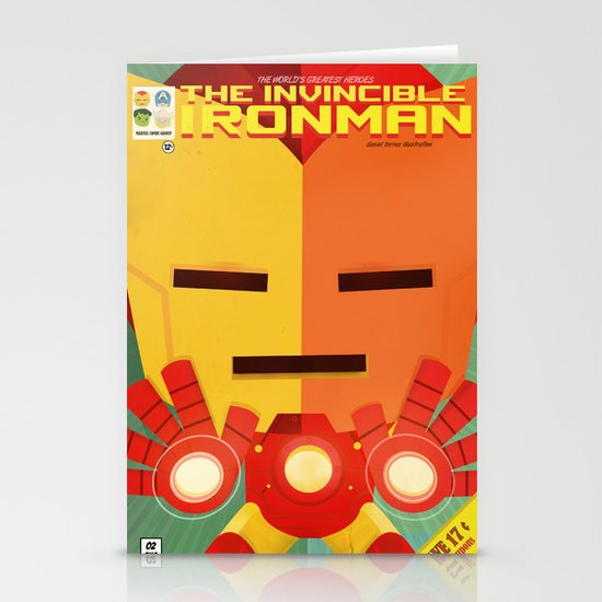 ironman fan art Stationery Cards
