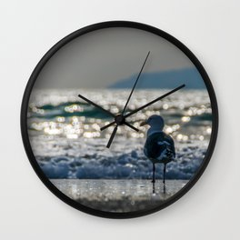Afternoon Seagull Wall Clock