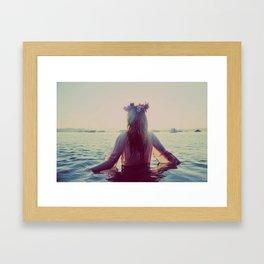Lady, Weep. Framed Art Print