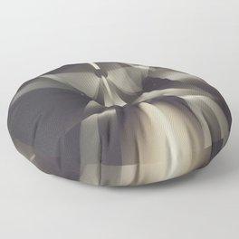 Through The Hardened Bits Floor Pillow