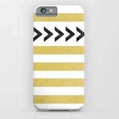 ARROW STRIPE {MUSTARD} Slim Case iPhone 6s