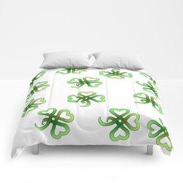 Celtic Clover Comforters
