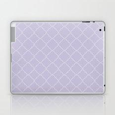 Quatrefoil - Lavender Laptop & iPad Skin