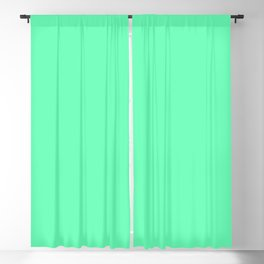 Spring - Pastel - Easter Green Solid Color 3 Blackout Curtain
