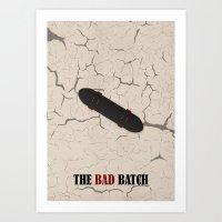 The Bad Batch Alternative Poster Art Print