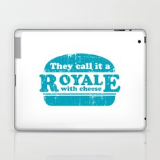 Pulp Fiction - royale with cheese Laptop & iPad Skin