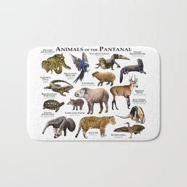 Animals of the Pantanal Bath Mat