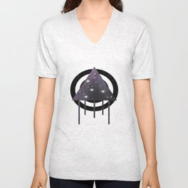 Dripping Space Unisex V-Neck