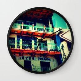 San Francisco Wanderlust Wall Clock