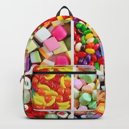 Colorful candy collage Backpack
