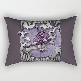 Rage against the Bureaucracy Rectangular Pillow